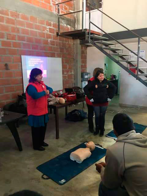 Personal de Hidrotec se capacitó en primeros auxilios